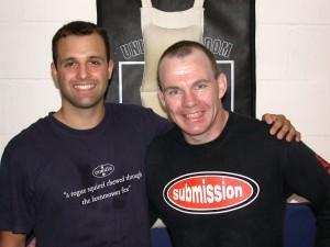 Nick Martin Sifu and Guru Rick Young